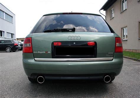 Audi A6 Sportauspuff by Fox Sportauspuff F 252 R Audi A6 Typ 4b C5 Avant 2x 1x100mm