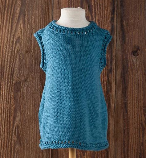 Riris Tunik By margot iris child tunic knitting patterns and crochet patterns from knitpicks