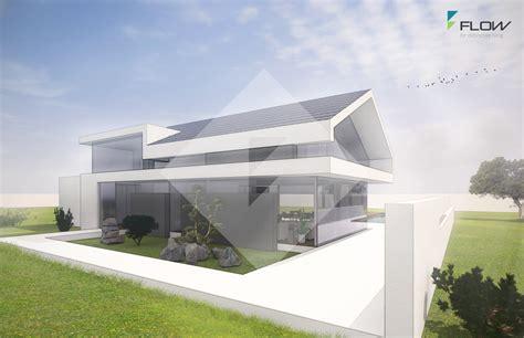 modernes satteldach architektenhaus satteldach in moderner architektur bauen