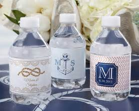 Wedding Favors Nautical by Nautical Wedding Water Bottle Labels My Wedding Favors