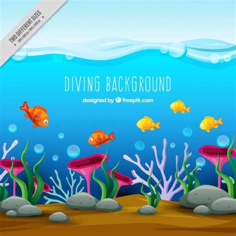 imagenes de la vida bajo el mar vida bajo el mar descargar vectores gratis