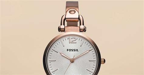 Jam Tangan Wanita Merk Fossil Type Es 3737 Baterai 2 jam tangan wanita fossil type es3110
