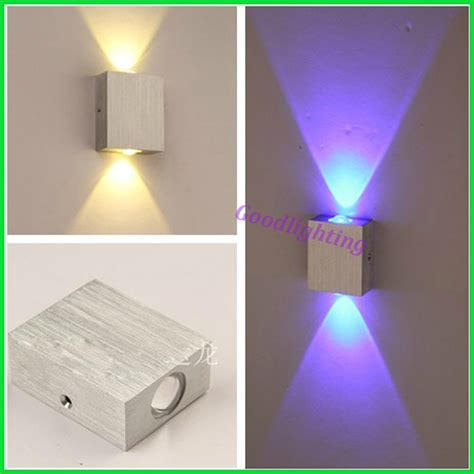 modern 2w led wall light ac85 265v high quality restroom