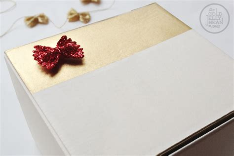 christmas gift wrapping re using boxes the gold jellybean