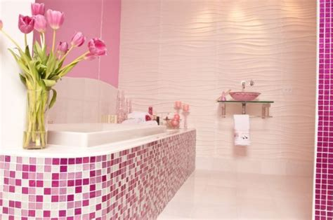 Pink Bathroom Ideas Inspiring Pink Bathroom Designs For You Blogforall