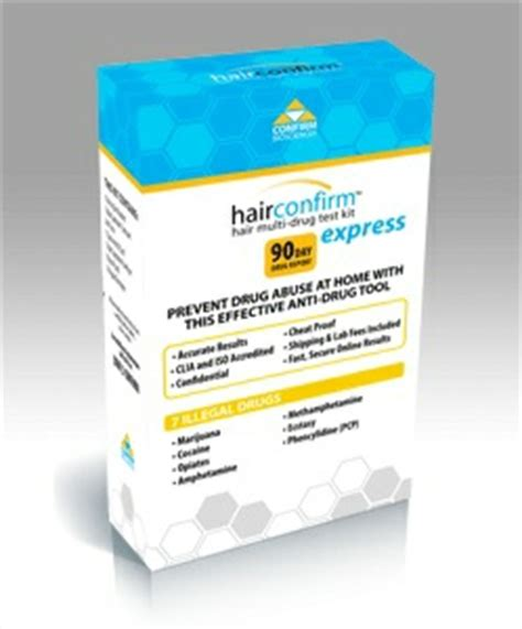Hair Test Detox by Hair Confirm Express Test Kit Smoke Shop
