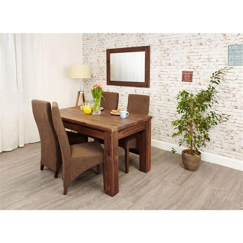 Linea Solid Walnut Furniture Large Dining Room Extending Walnut Dining Room Furniture