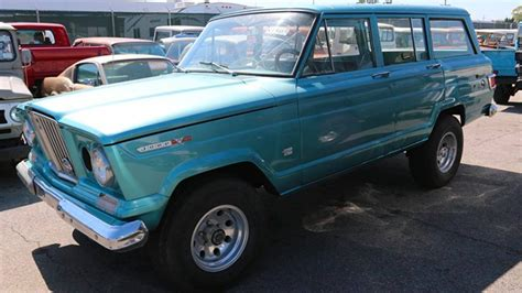 kaiser jeep wagoneer this kaiser wagoneer by icon 4x4 is nostalgia on wheels