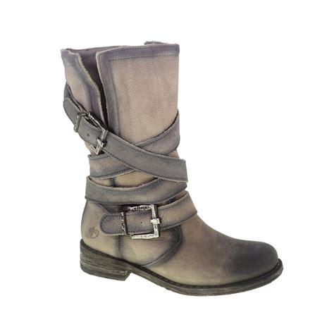 laundry boots lyst laundry twisty tie leather boot in gray