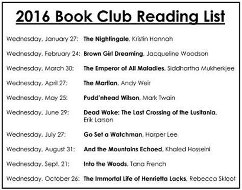 Book Club E Books Directory Book Club Garnet A Wilson Library Of Pike