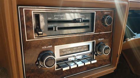 supreme radio junkyard find 1979 oldsmobile cutlass supreme the