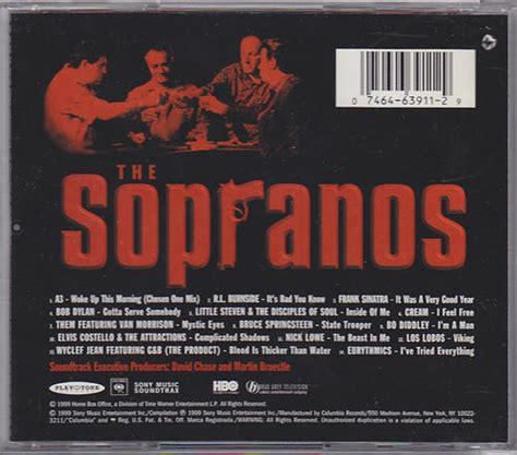 theme music sopranos bruce springsteen collection the sopranos music from