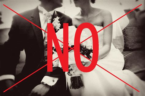 No At Your Wedding by No Wedding Soapbox