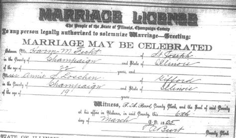 Dupage County Marriage Records Rootdig September 2009
