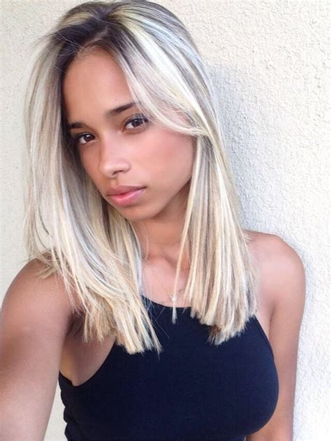 blonde hairstyles on dark skin platinum blonde hair is it the new hair trend the