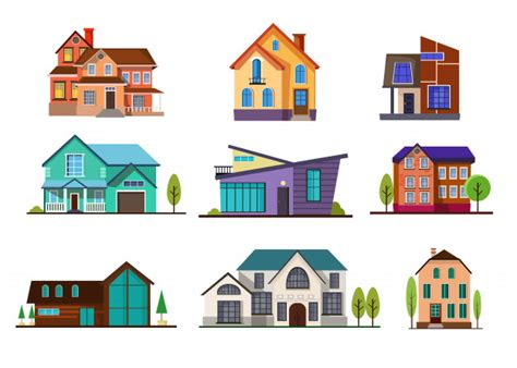 house  vectors stock  psd