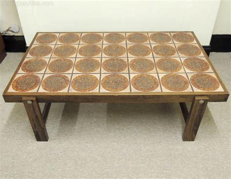 Tile Top Coffee Table Antiques Atlas Retro Tile Top Coffee Table