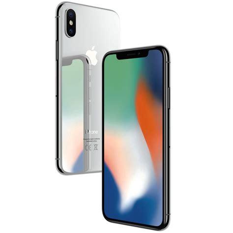 smartfon apple iphone x nfc wifi gps bluetooth lte 64gb ios 11 srebrny cena opinie sklep