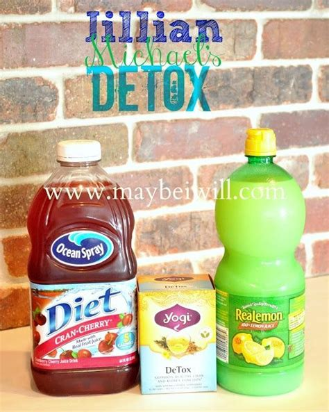 Detox Juice Walmart by Jillian Detox Water Recipe