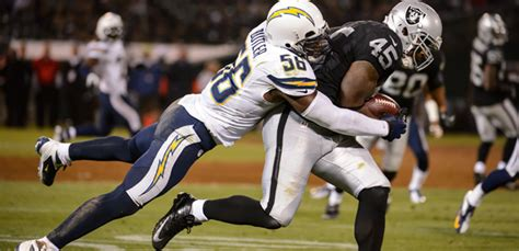 raiders chargers time raiders vs chargers time