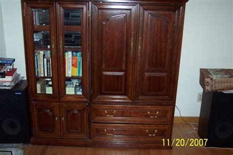 removing glue ons from cabinet door