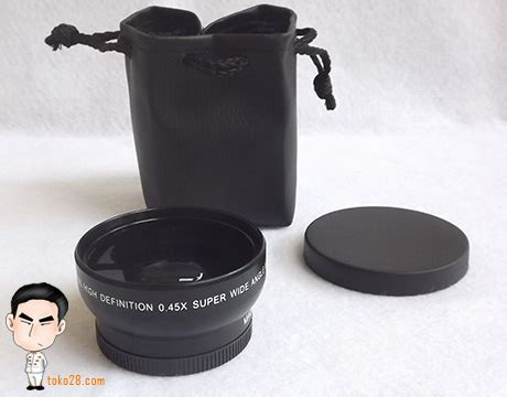 Lensa Wide Nikon Murah lensa wide nikon 0 45x extension