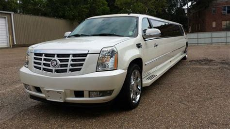 sell used 2007 cadillac escalade esv 200 quot limo in shreveport louisiana united states for us