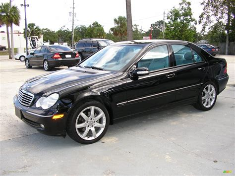 2004 Mercedes C 230 Kompressor Sedan In Black Photo