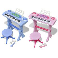 Toddler Keyboard And Stool by Pink Piano Ebay