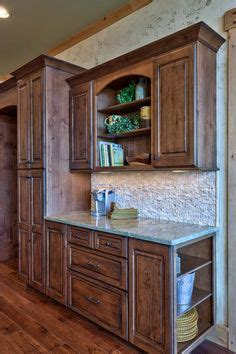 Black Dimension Water Base Color Glazing knotty alder kitchen cabinets on knotty alder kitchen wood kitchen cabinets and