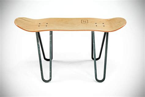 skateboard furniture dutch company makes beautiful furniture out of skateboard