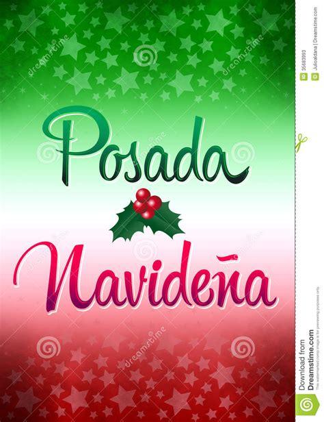 posada navidena stock  image