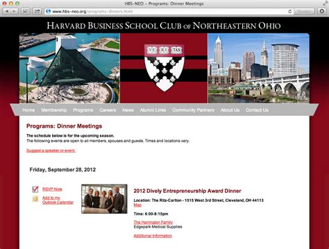 Northeastern Mba Start Dates by Dynamics Harvard Business School Club Of