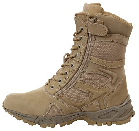 rothco boots rothco desert forced entry 8 quot side zip boot