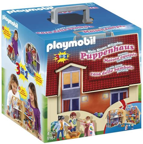playmobil take along dolls house playmobil take along modern doll house 5167 table