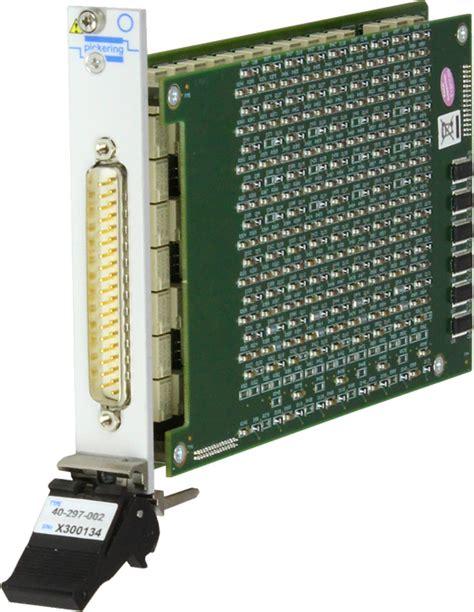 programmable resistor module pxi高精度程控电阻板卡 6 通道 3至22 3m欧姆 货号 40 297 054 pxi高精度可编程电阻模块 pxi模块 pxi机箱 pickering interfaces