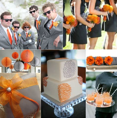 1000 images about eggplant gray burnt orange weddings on