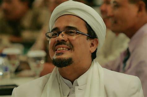 biografi singkat habib rizieq shihab profil lengkap muhammad rizieq shihab gosip indonesia