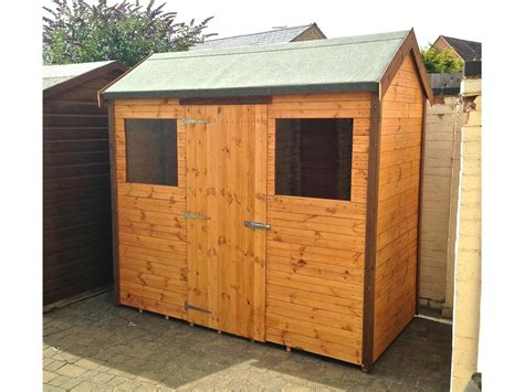 8x4 Wooden Shed 8x4 shed argos