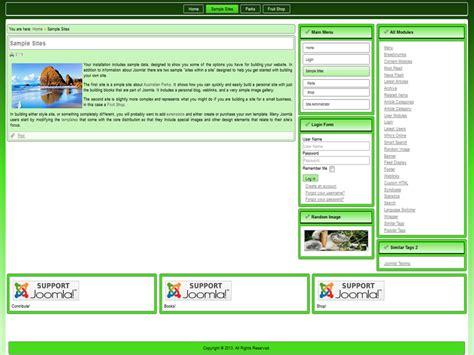 template joomla vertical menu joomla template features 55