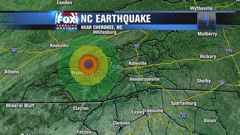 earthquake north carolina earthquake north of cherokee nc wmbfnews com myrtle