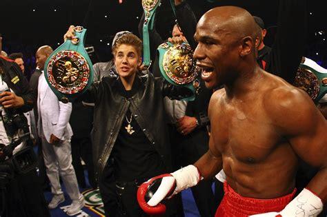 floyd mayweather money bag ridiculousness floyd mayweather is teaching justin bieber to box