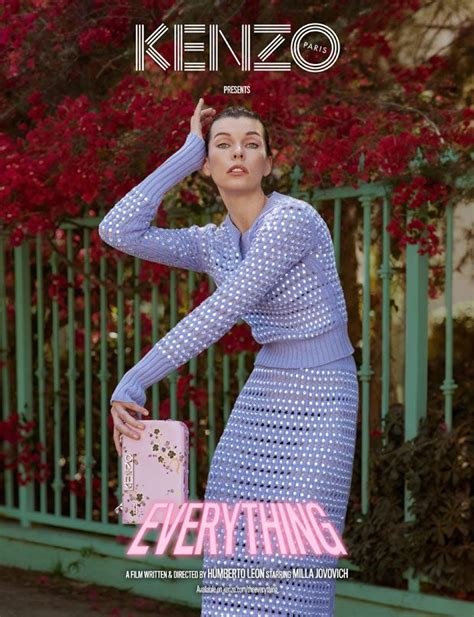 milla jovovich short film watch kenzo the everything short film ft milla jovovich