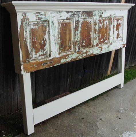 distressed wood headboard diy best 25 distressed headboard ideas on pinterest