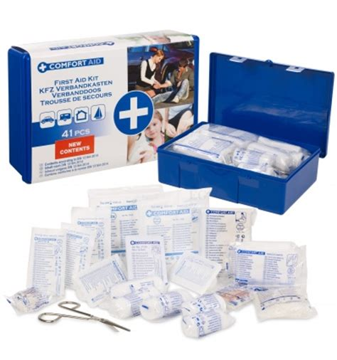 home safety and comfort comfort aid 41pc first aid kit 998299