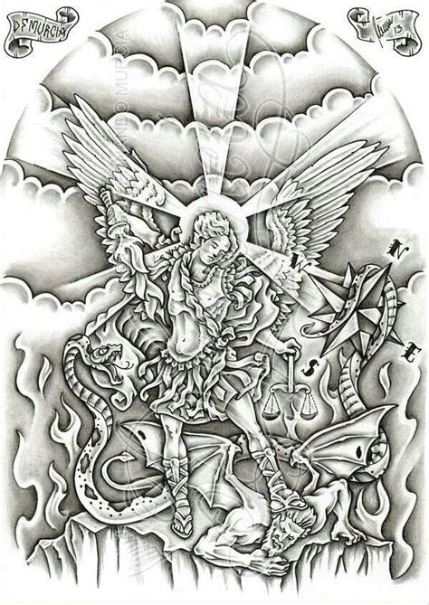 tattoo flash copyright law 30 best angel of protection tattoo flash images on