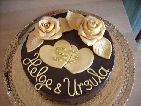 Hochzeitstorte Goldene Hochzeit by Goldene Hochzeit Torte Alle Guten Ideen 252 Ber Die Ehe