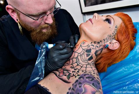is getting a tattoo on your neck dangerous how the evolution of tattoos has become acceptable fashion