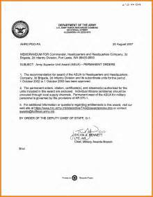 Memo Writing Guidelines 10 Army Memorandum Format Resume Sections