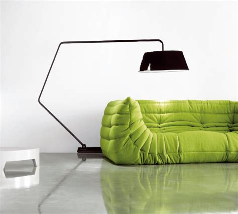 Contemporary Bathroom Ideas Elegant Green Color Togo Sofa Small Sectional Living Room